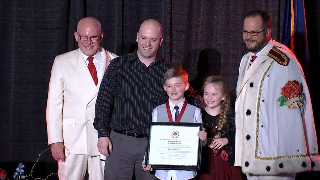 Vancouver boy who saved sister named Royal Rosarian Newsmaker of the Year nominee