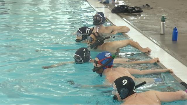 Mt hood community college hosts sport league that combines hock kptv fox 12 for Mt hood community college pool open swim