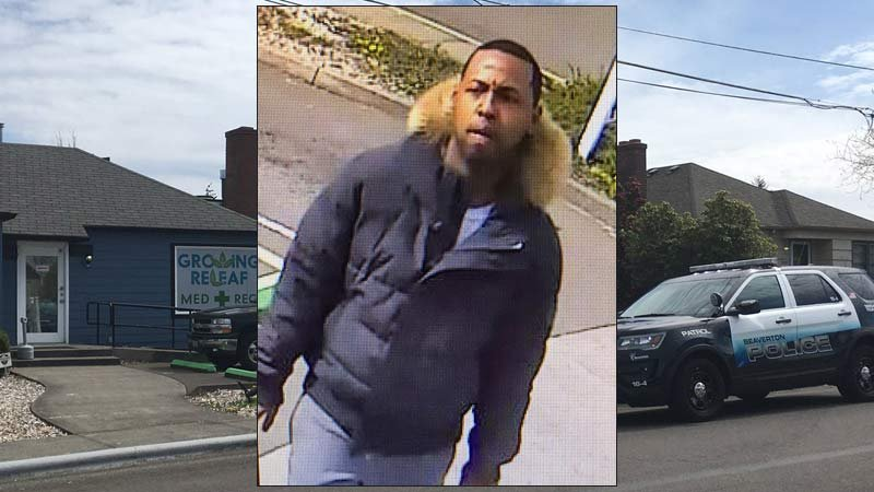 A marijuana shop theft suspect was identified by Beaverton police as Devonte Gregory Stewart. (Images: Beaverton PD/KPTV)