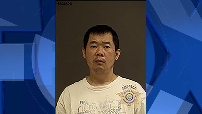 Hathasone Pathammavong, jail booking photo (Beaverton Police Department)