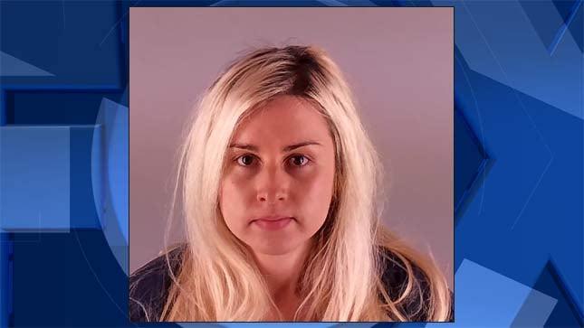 Emmy Gilbert, jail booking photo
