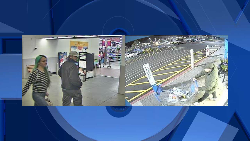 Surveillance images of the suspects (Courtesy: Clark County Sheriff's Office)