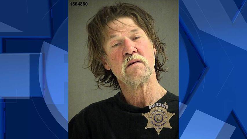 Verlon Thompson, jail booking photo (Image: Washington County Sheriff's Office)