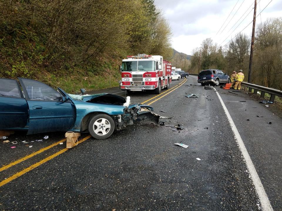 Crash scene (Image courtesy OSP)