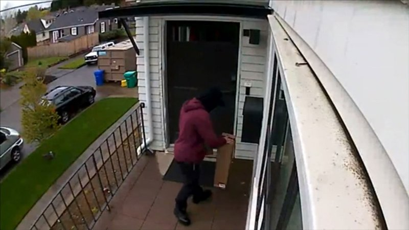 Suspected package thief caught on camera in ne portland - Camera world portland ...