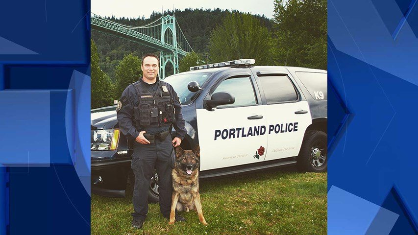 (Courtesy: Portland Police K-9 Unit)