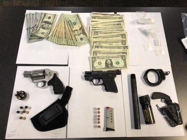 Evidence seized by police (Portland Police Bureau)