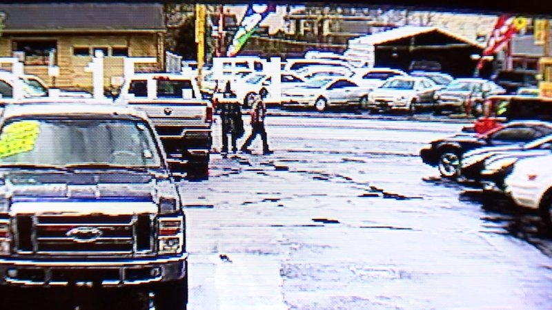 Wanted suspects caught on camera stealing truck parts from - Camera world portland ...
