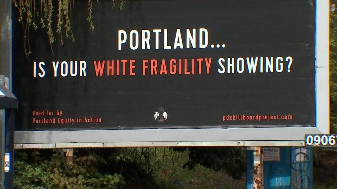 Oregon Gas Prices >> Group erects anti-racist billboards in Portland - KPTV ...