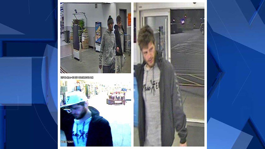 Surveillance images of the person of interest (Oregon City Police Department)