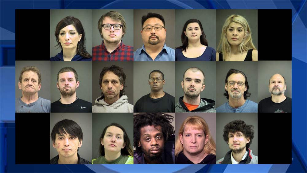 Jail booking photos released by Washington County Sheriff's Office