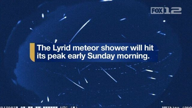 Lyrid meteor shower: What you need to know about the show in the sky