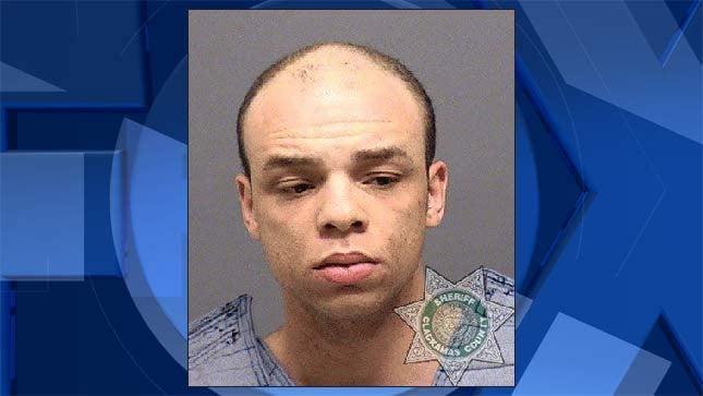 Deshaun James Swanger, jail booking photo
