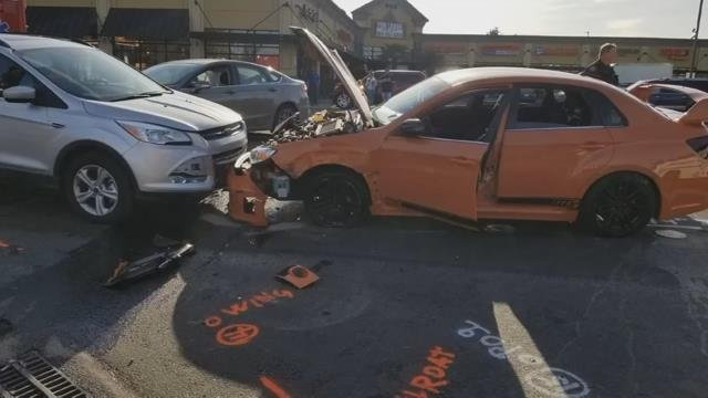 Witness reacts to suspected DUII crashes: 'I have to stop this guy before he kills someone'