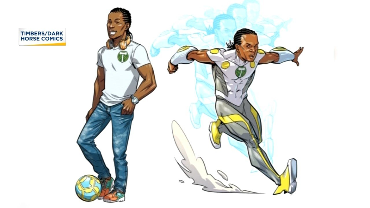 Image provided by Portland Timbers/Dark Horse Comics.
