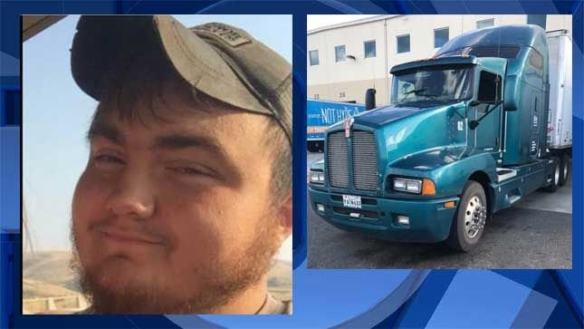 Missing 22-year-old truck driver near Pendleton found safe