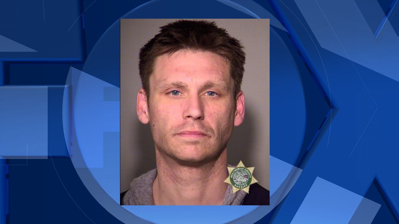 Purdue booking photo (Image: Multnomah Co. Sheriff's Office)