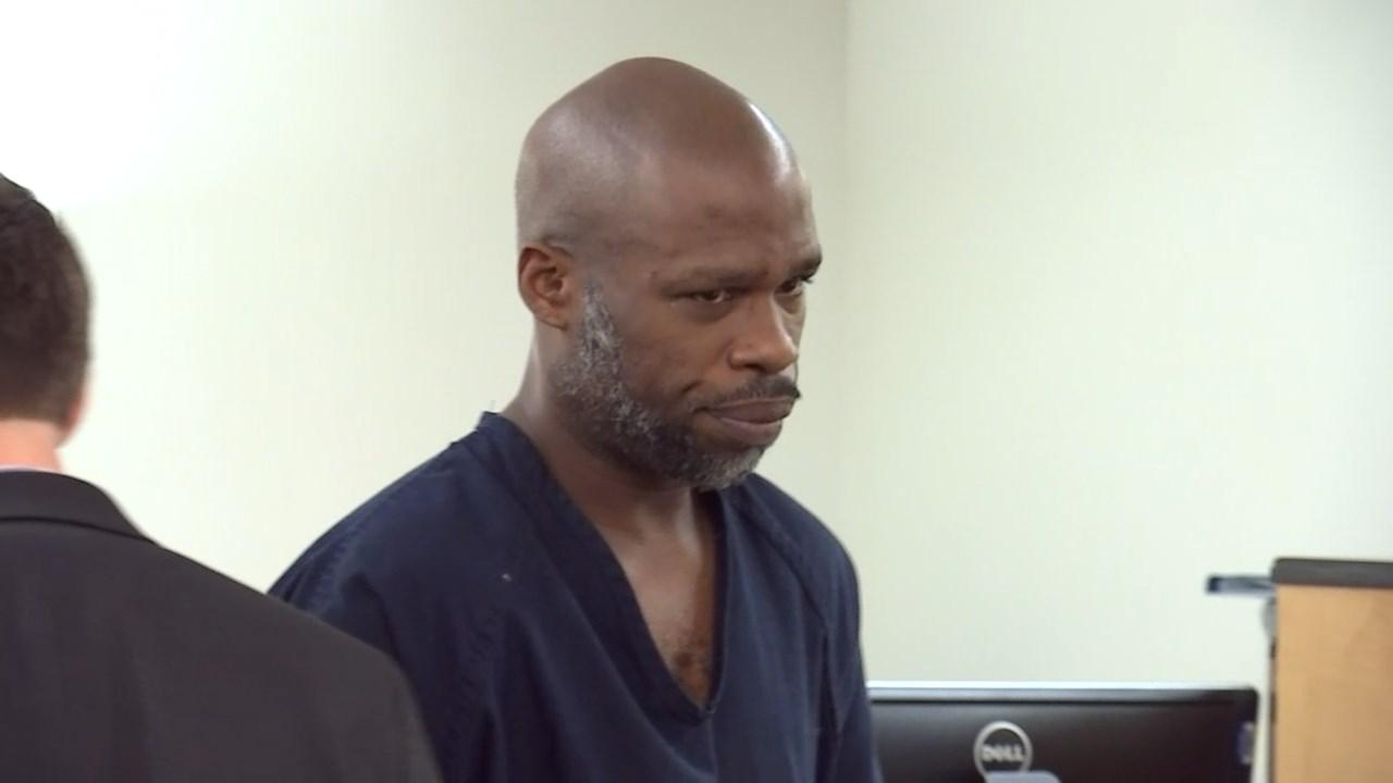 Dwayne Ontion Stewart in court Monday. (KPTV)