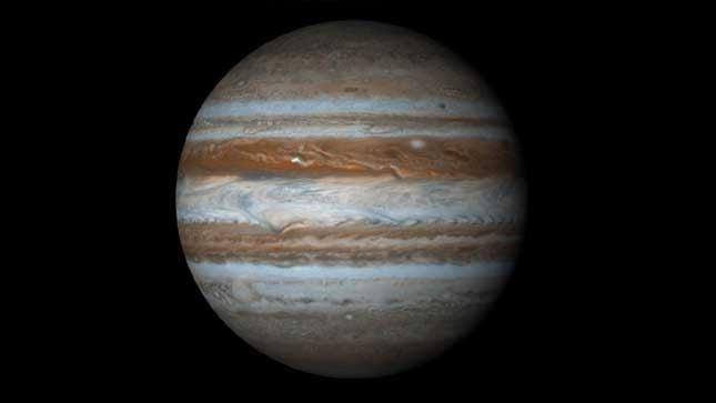 Jupiter. (Photo credit: NASA)