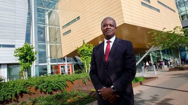 New OHSU President Dr. Danny Jacobs. (Image: Oregon Health & Science University)