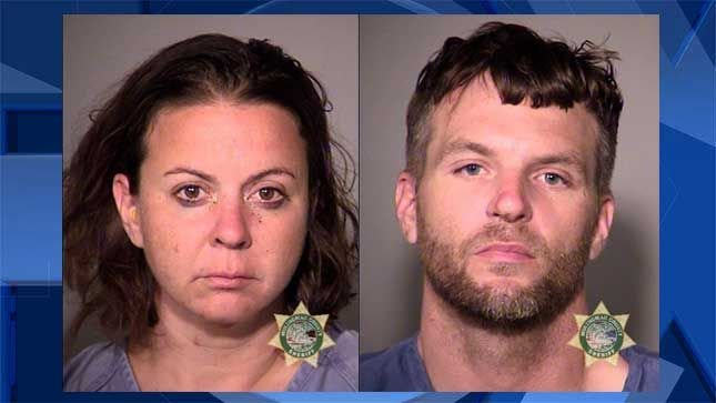 Sandra Dee Miller and Joshua Vaughn Miller, jail booking photos