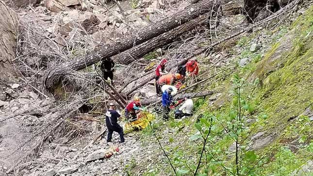 Photo provided by the Skamania County Sheriff's Office.