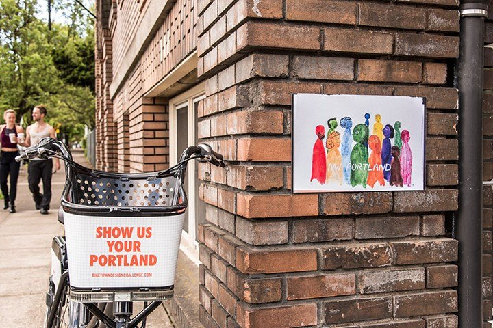 Northwest Portland design by Renata Castro (Courtesy: BIKETOWN)