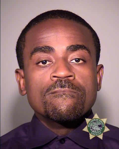 Charles McGee, jail booking photo