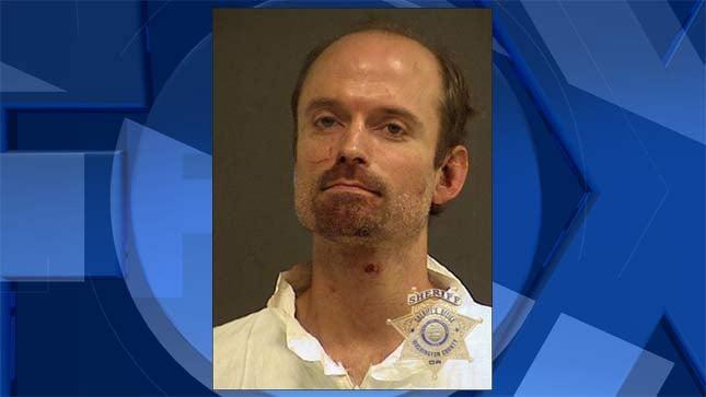 Michael Stuart Ross, jail booking photo