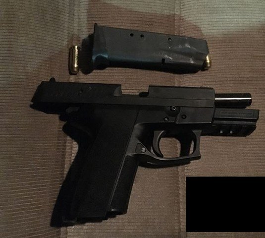 Second firearm seized during the investigation Friday night. (Courtesy: Portland Police Bureau)