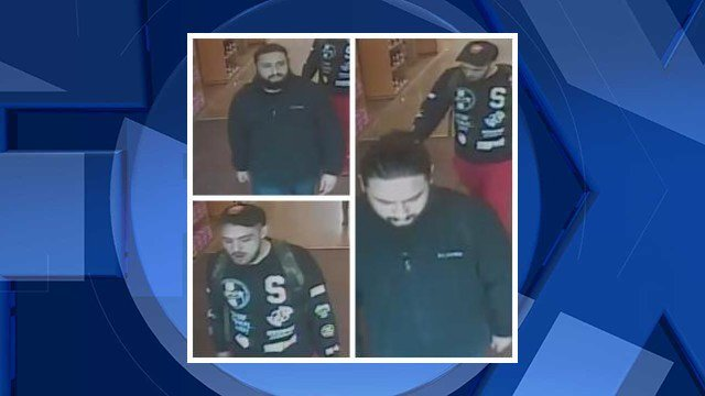 Surveillance images of the suspects (Courtesy: Oregon City Police Department)