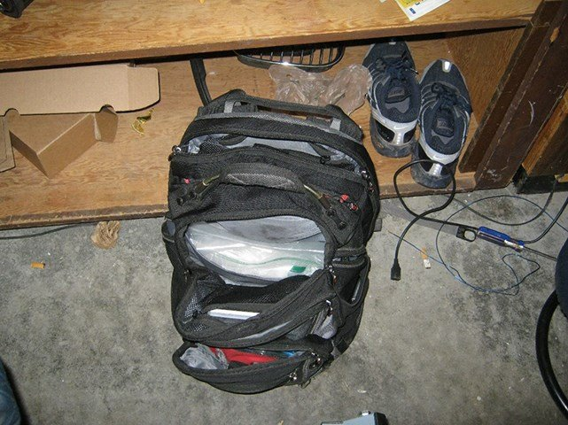 Carpenter's backpack (Courtesy: The U.S. Attorney's Office - District of Oregon)