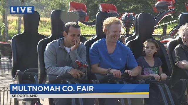 On the Go with Joe at Multnomah County Fair