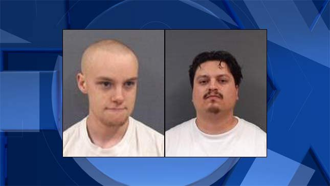 Rees Gilmore Dikeos, Mark Anthony Gonzalez, jail booking photos