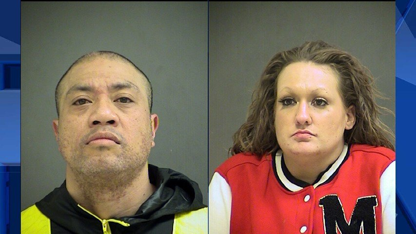 Kimo Utuutuvanu, booking photo from May, and Kaylee Hathaway, booking photo (Images provided by the Washington County Sheriff's Office)