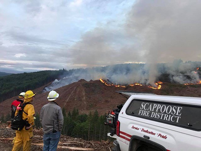 (Image: Scappoose Fire)