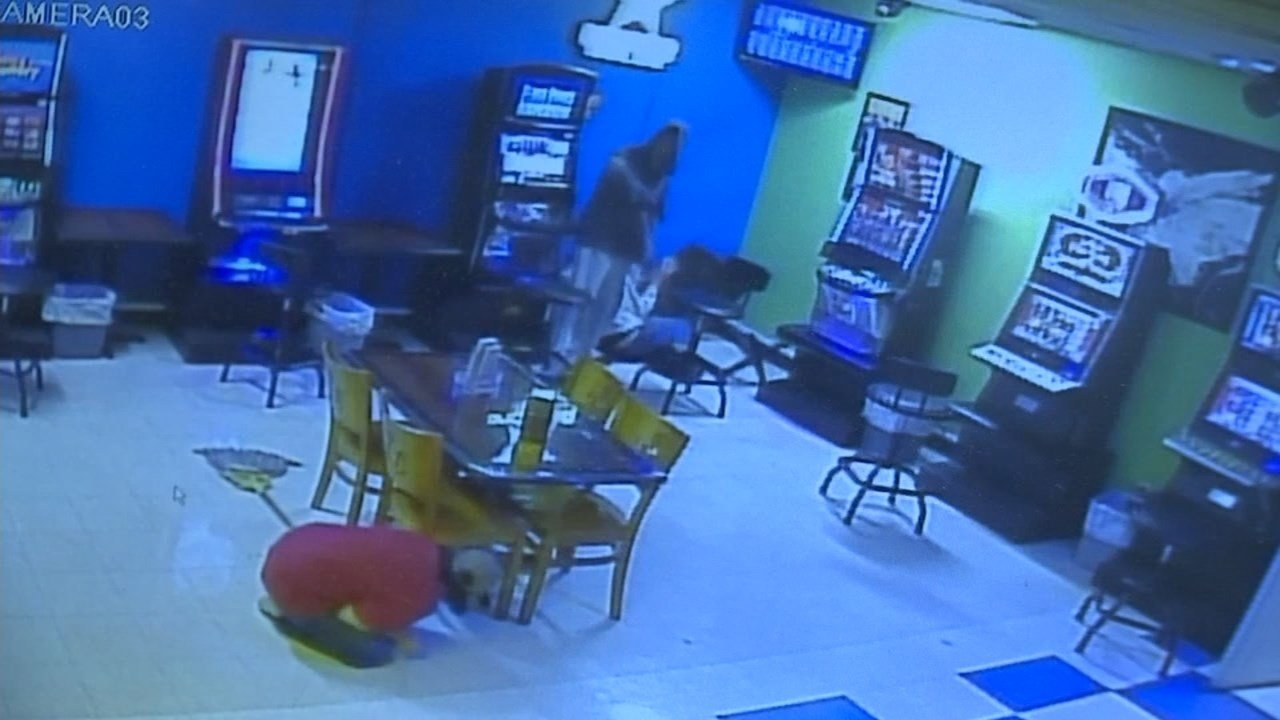 Surveillance image of the second suspect (Image: Stan's Market)
