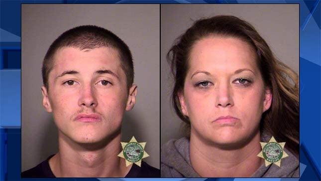 Corey Johnson, Stephanie Schramm, jail booking photos