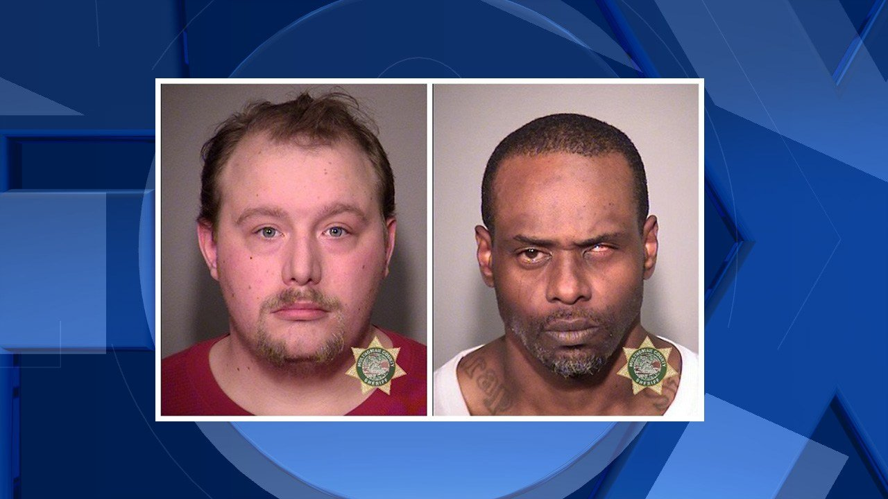 Sikes, McCrary booking photo (Multnomah County Sheriffs Office)
