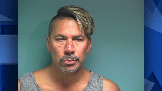 Kevin Wayne Stufflebean, booking photo.