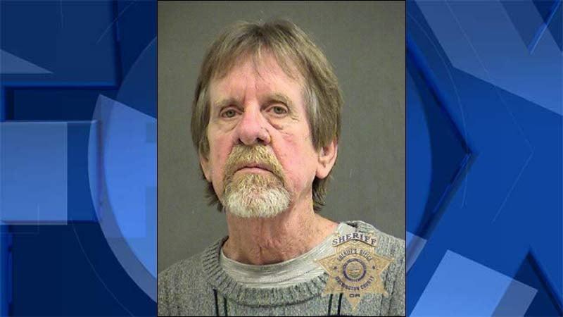 John P. Gilbreath, jail booking photo