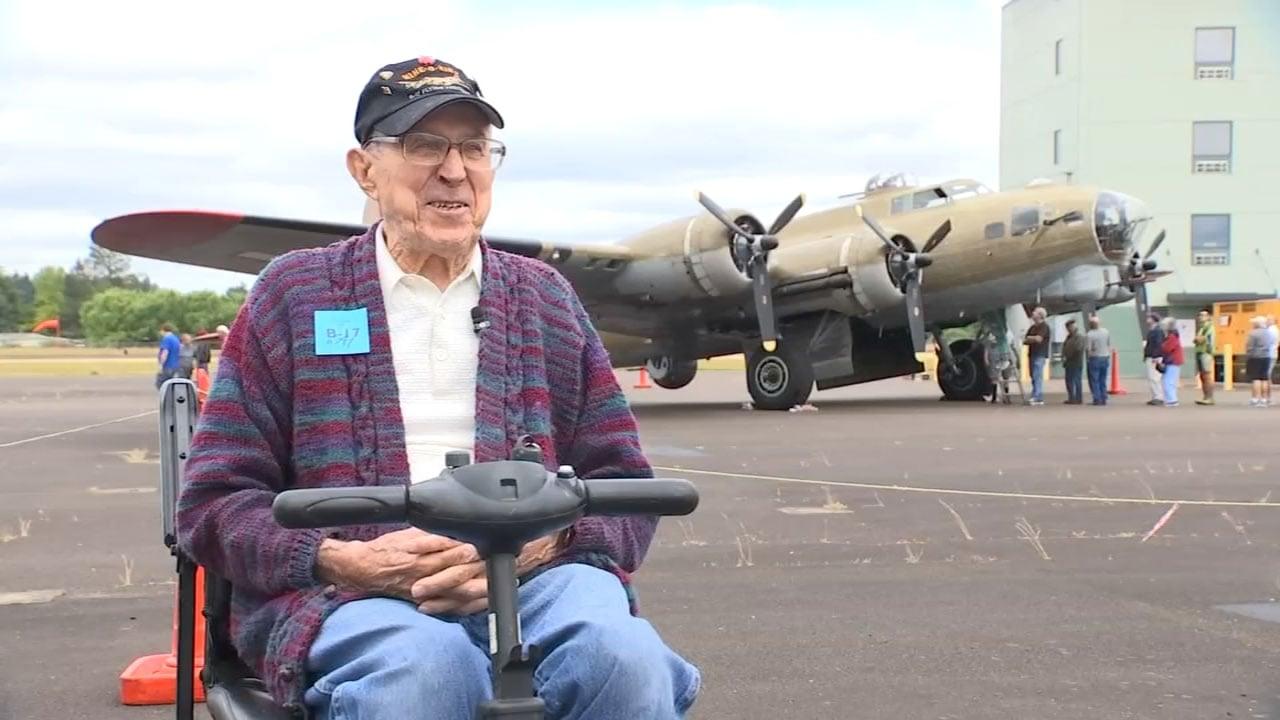 World War II veteran HJ Luke (KPTV)