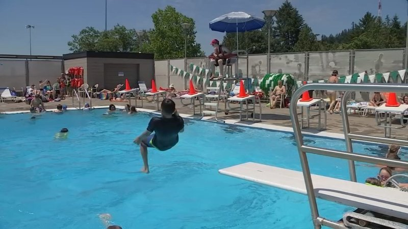 Public Pools Open Around Portland Area As Families Find Relief F Kptv Fox 12