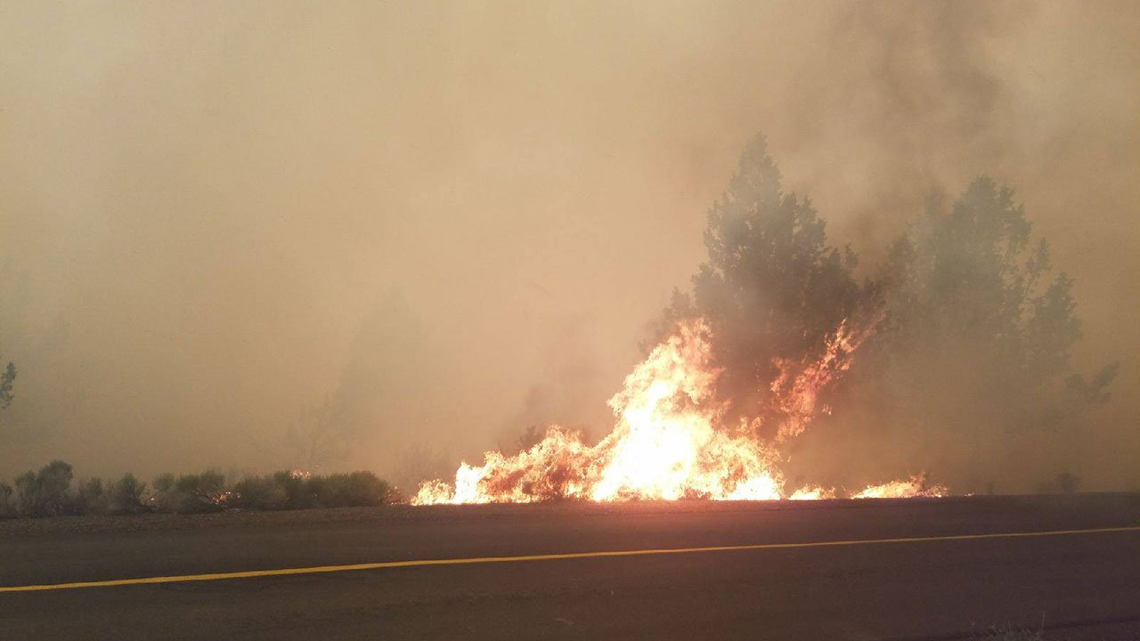 Image of Graham Fire, photo provided by Jefferson County Sheriff's Office