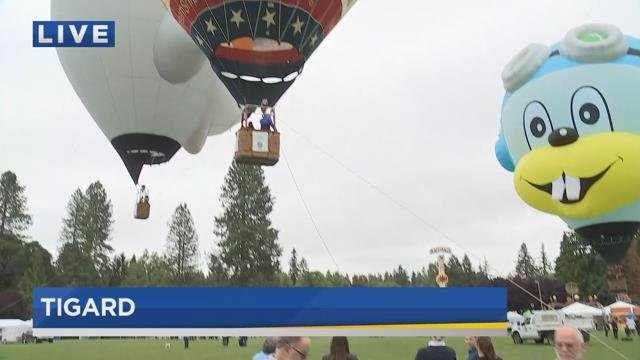 Festival of Balloons returns to Tigard for aerial fun