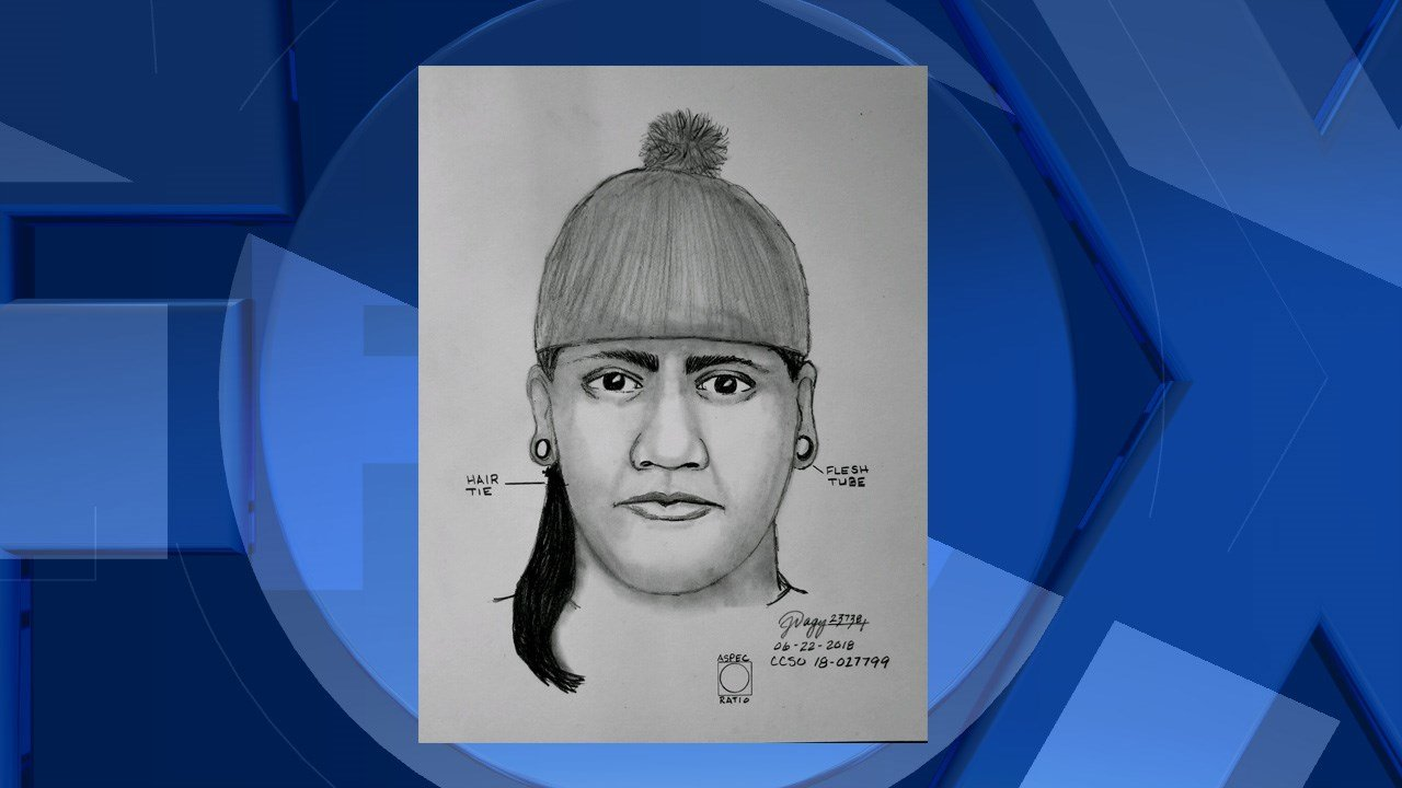 (Clackamas County Sheriff's Office suspect forensic sketch)