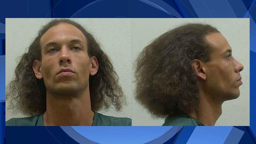 Monte E. Huigens. NOTE: He has recently shaved his hair and is bald (Images: Cowlitz County Sheriff's Office)