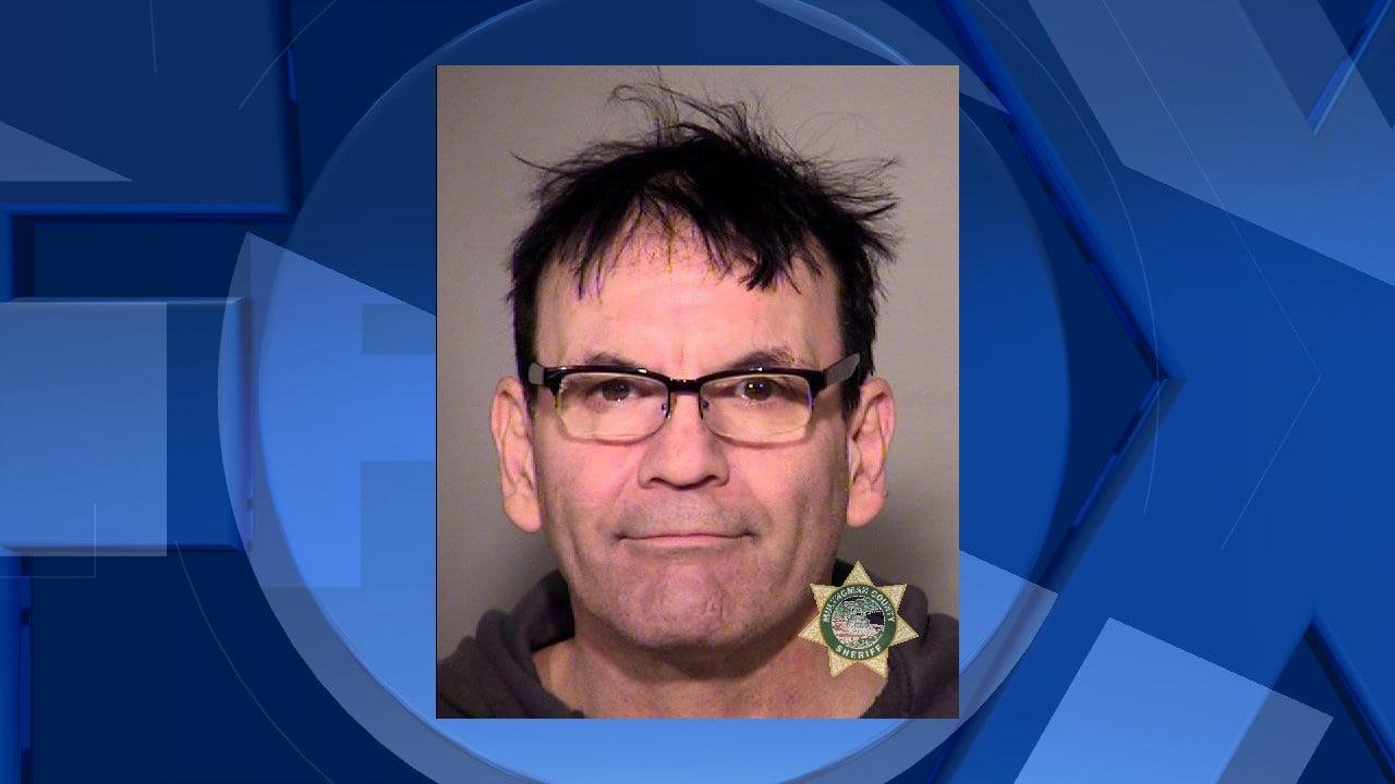 Jail booking photo (Multnomah County Sheriff)