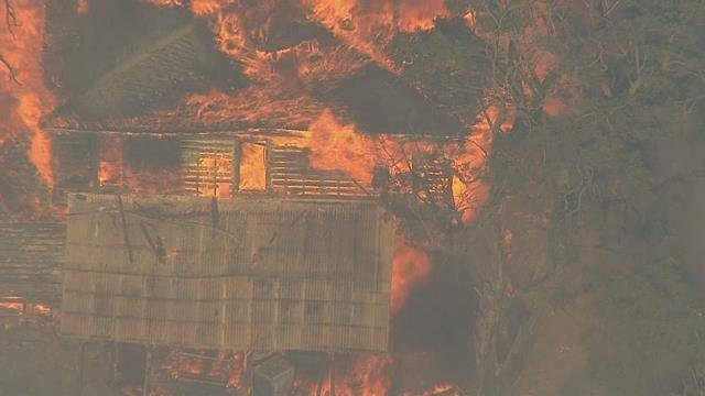 Fire near The Dalles burns home, several outbuildings; evacuations ordered