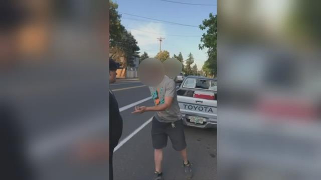 Man caught on camera yelling homophobic slurs to couple in SE Portland